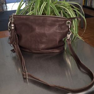 Italian Leather/ Crossbody Bag/NWOT/